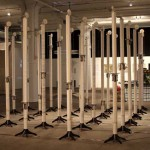 Silent Barrage - The robotic Body Exit Art Gallery, NYC, 2009  Foto: Soyo Lee