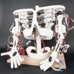 Image of development of ROBOY, a project by the AI Lab at the University of Zurich.