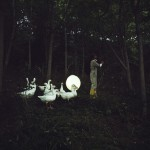 Mobile Moon Training, The Moon Goose Colony, Photo: Tamara Lorenz, © Agnes Meyer-Brandis, VG-Bild Kunst 2011