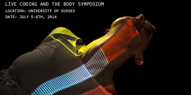 Live Coding and the Body