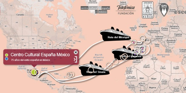 GEOLOCATION AND REMEMBRANCE: COLLABORATIVE MAP OF THE SPANISH EXILE IN MEXICO