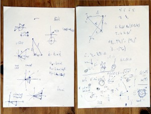 Thiago Hersan and Radamés Ajna, MEMEMEME (2014). Notes and sketches.