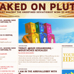 Aymeric Mansoux, Marloes de Valk and Dave Griffiths, Naked on Pluto (2010-2013). Fuente: nakedonpluto.net